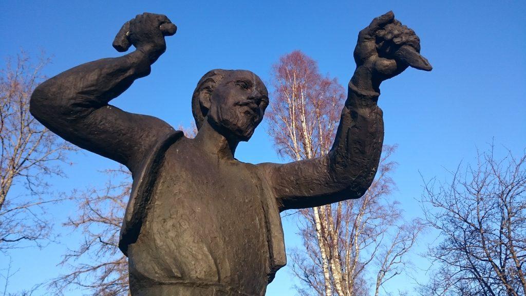 Kuvanveistäjä Johannes Takasen puisto